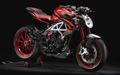MV Agusta Brutale 800 RR, LH44 Edition, 2018, 4k, luxury sports bike, exterior, tuning, racing motorcycle, MV Agusta