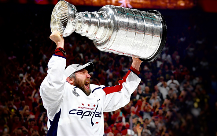 Download Wallpapers Alexander Ovechkin, Washington