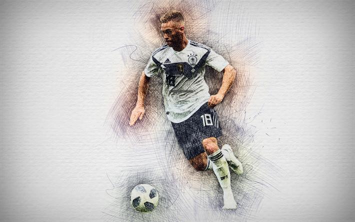 download imagens 4k josué kimmich alemã de futebol obras de arte