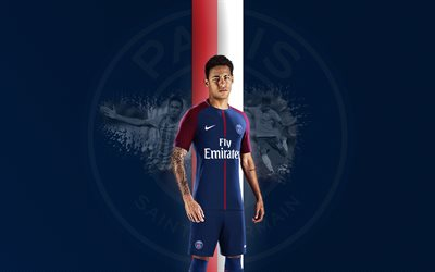 Neymar, PSG, Paris Saint-Germain, football, France