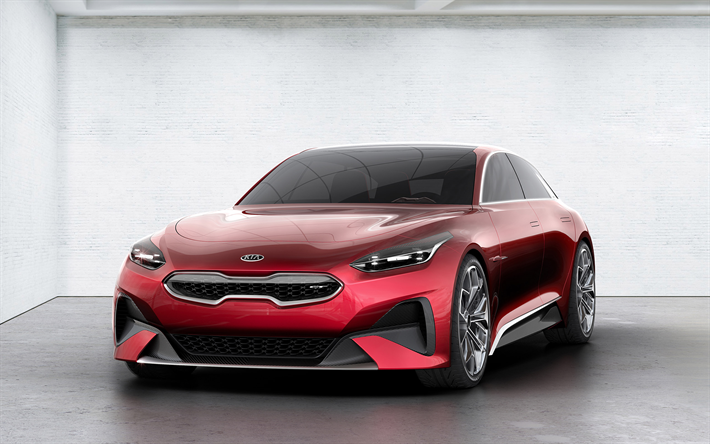 Kia Proceed Concept, 2017, sports estate, cars of the future, Kia, Korean cars