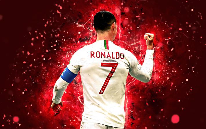 Descargar Fondos De Pantalla 4k Cristiano Ronaldo Blanco
