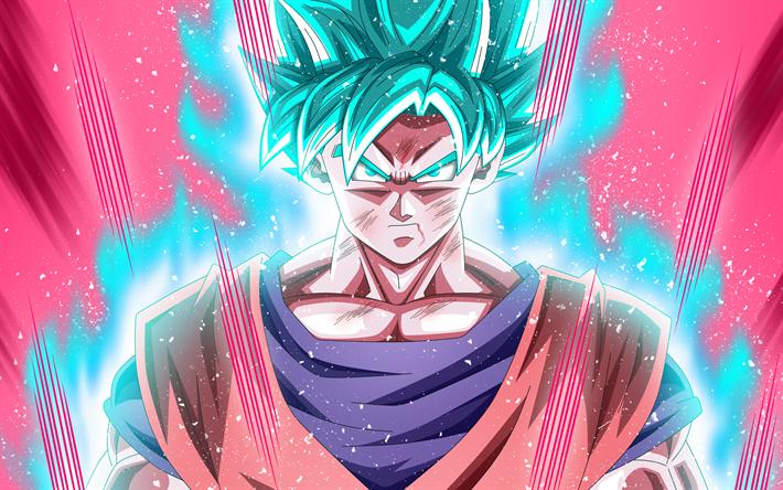 Download Wallpapers Blue Goku 4k Artwork Super Saiyan