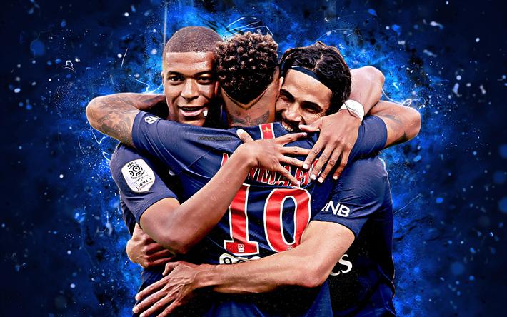 Descargar Fondos De Pantalla 4k Kylian Mbappe Neymar