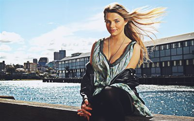 Indiana Evans, 4k, australian actress, smile, beauty, girl with blue eyes, australian celebrity, Hollywood, Indiana Evans photoshoot