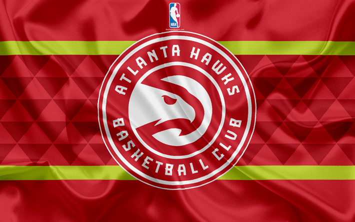 Download Wallpapers Atlanta Hawks Basketball Club Nba