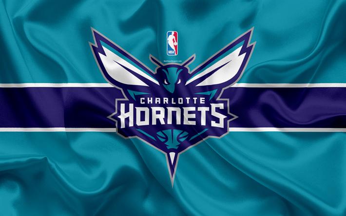 Charlotte Hornets Basketball Club NBA Emblem Logo USA National