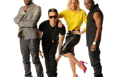 The Black Eyed Peas, American band, hip-hop, USA, Fergie, Taboo, Allan Pineda Lindo, william, William Adams, Stacy Ann Ferguson