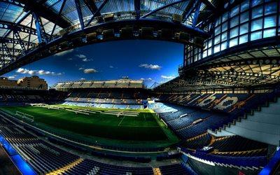Download wallpapers Stamford Bridge, HDR, Fulham, London