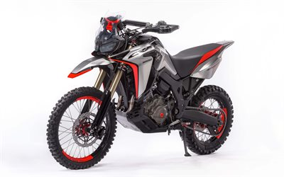 Honda CRF1000L, Africa Twin Enduro, Sports Concept, 2017, new motorcycles, rally motorcycle, Honda