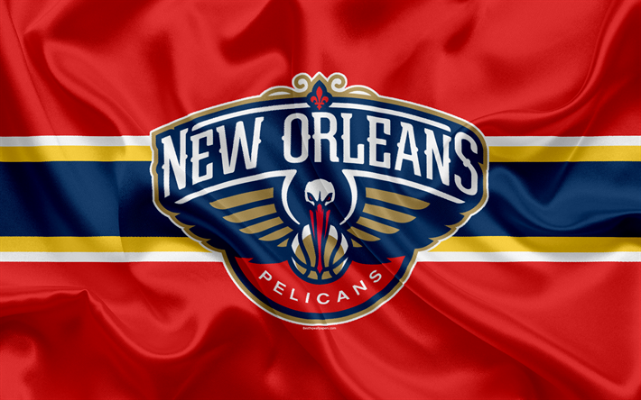 Download Wallpapers New Orleans Pelicans, Basketball Club