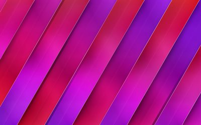 purple stripes, 4k, lines, creative, art, abstract material