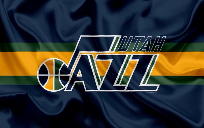 Utah Jazz Basketball Club NBA Emblem New Logo USA National