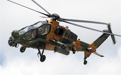 TAI T-129, Attack helicopter, Turkish Air Force, AgustaWestland, AW729, military helicopter, military aviation, Turkish Army, Turkish Aerospace Industries