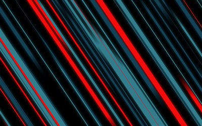 4k, lines, strips, creative, material design, abstract material