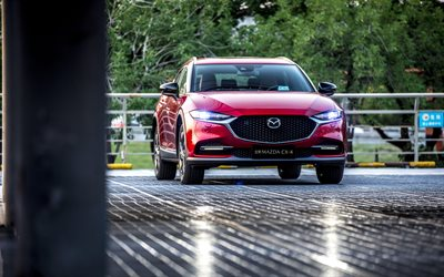 Mazda CX-4, 4k, crossovers, 2020 cars, japanese cars, 2020 Mazda CX-4, Mazda