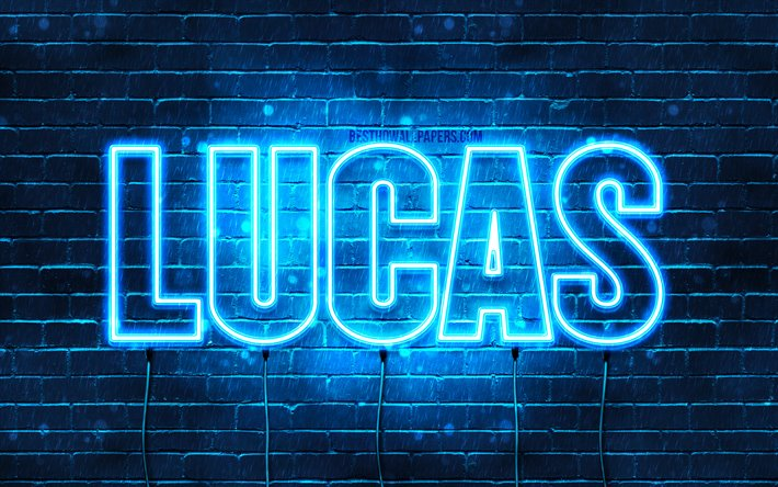 Download wallpapers Lucas, 4k, wallpapers with names ...