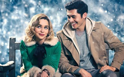 Last Christmas, 2019, poster, promotional materials, Christmas comedy, Emilia Clarke, Henry Golding
