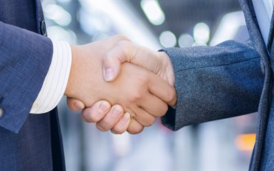 Handshake, business people, business concepts, success concepts, handshake concepts