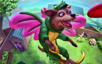 4k, Kukulkan, monster, Smite God, 2019 games, Smite, MOBA, Kukulkan with wings, Smite characters, dragon, Kukulkan Smite