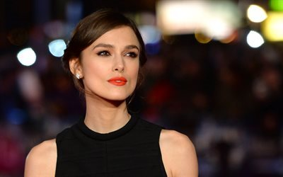 Keira Knightley, british actress, movie stars, beautiful woman, brunette