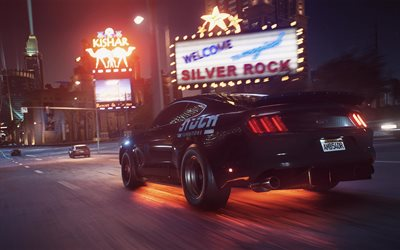 Need For Speed Payback, gameplay, 4k, Ford Mustang, 2017 games, Noise Bomb, NFSP, autosimulator, Need For Speed