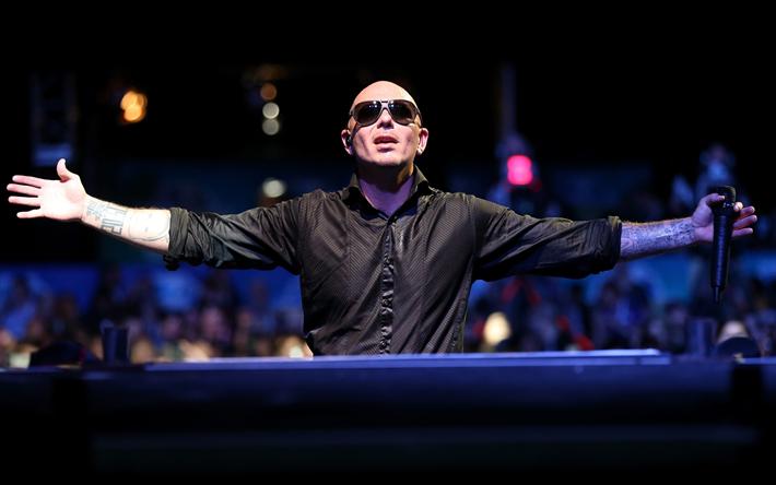 Pitbull 4k American Singer Superstars Armando Christian Perez Concert Rapper