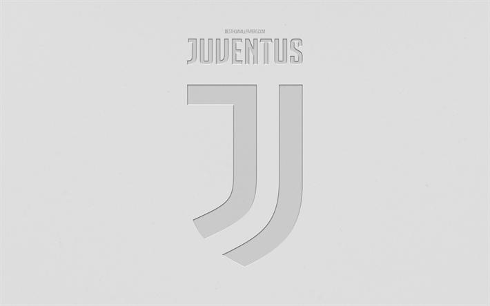 Scarica Sfondi Juventus Fc Larte Alla Moda Nuovo Logo Sfondo