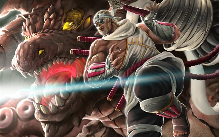 Download Wallpapers Killer Bee 4k Monster Naruto Manga