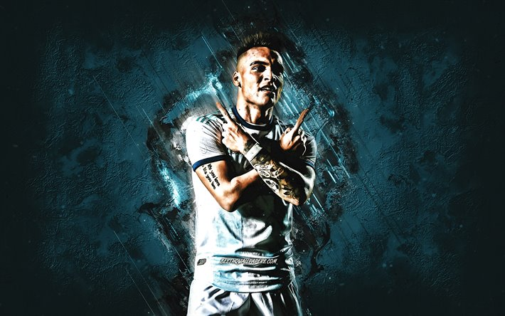 Lautaro Martinez, Argentina National Football Team, Argentine football player, portrait, Argentina, football