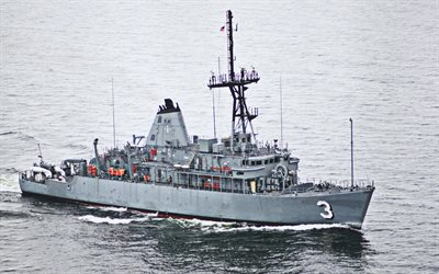 USS Sentry, MCM-3, mine countermeasures ships, United States Navy, US army, battleship, US Navy, Avenger-class, USS Sentry MCM-3