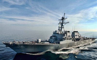 USS Barry, DDG-52, destroyer, United States Navy, US army, battleship, US Navy, Arleigh Burke-class, USS Barry DDG-52