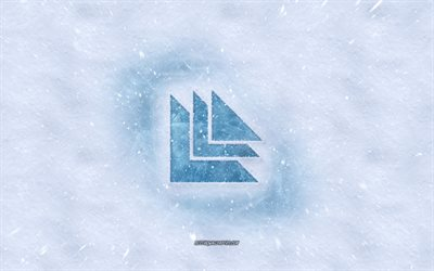 Revealed Recordings logo, winter concepts, snow texture, snow background, Revealed Recordings emblem, winter art, Revealed Recordings