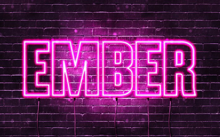 Download wallpapers Ember, 4k, wallpapers with names ...