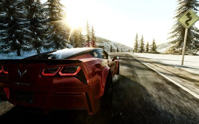 the crew, wild run, chevrolet corvette, stingray, z07, driving games