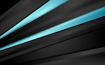 abstract dark background, blue lines, light blue lines, black lines