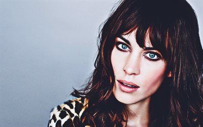 Alexa Chung, 2019, portrait, beauty, british models, woman with blue eyes, british celebrity, Alexa Chung photoshoot