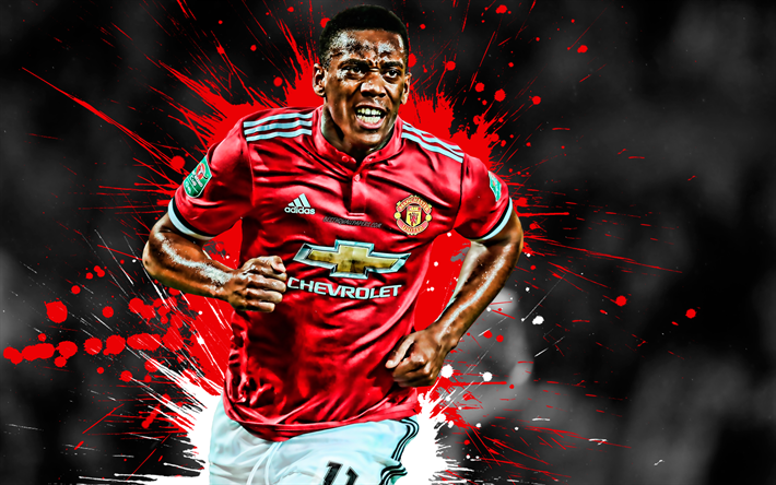 Download Wallpapers Anthony Martial, Manchester United FC