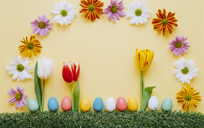 8397a39184c2 Download wallpapers Easter decoration