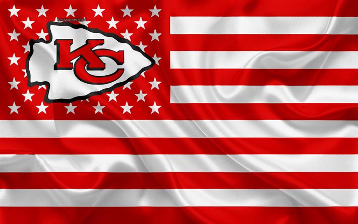Download Wallpapers Kansas City Chiefs American Football