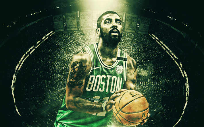 Cartoon Kyrie Irving Wallpapers Boston Celtics: Download Wallpapers Kyrie Irving, TD Garden, Boston