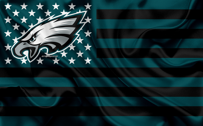 Download Wallpapers Philadelphia Eagles American Football