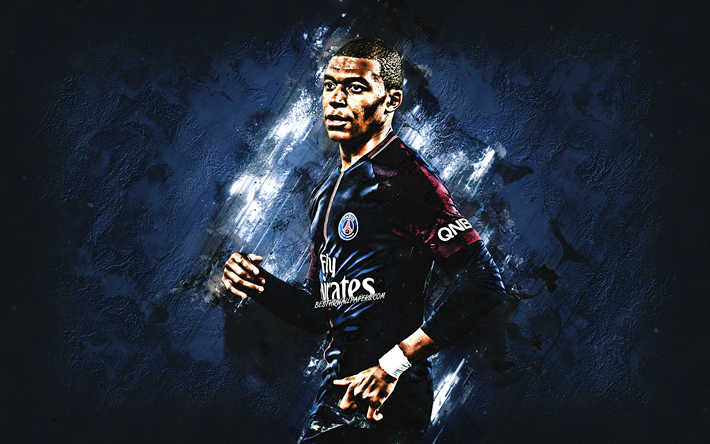 Kylian Mbappe, le PSG, footballeur français, le Paris Saint-Germain, le talent, la star du football, portrait, Ligue 1, France, football