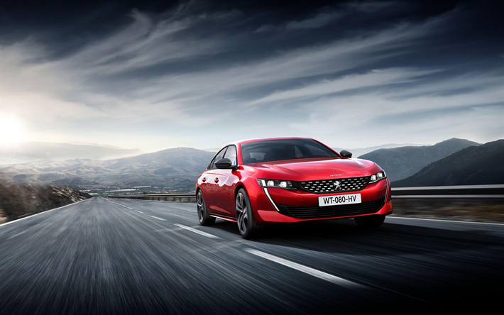 Download wallpapers Peugeot 508 GT, road, 2018 cars, First Edition ...
