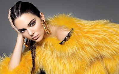 Kendall Jenner, American Fashion Model, Portrait, Photoshoot, Beautiful Women, Makeup