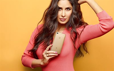 Katrina Kaif, portrait, Indian actress, Indian fashion model, beautiful woman, Bollywood