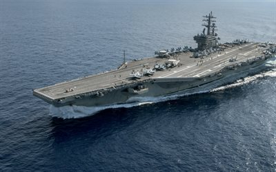 USS Ronald Reagan, CVN 76, aircraft carrier, US Navy