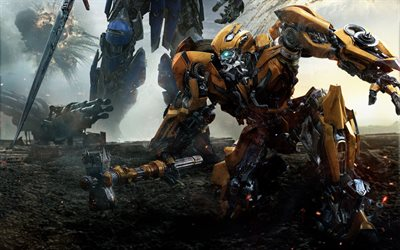 Transformers 5, The Last Knight, Optimus Prime, 2017, Bumblebee