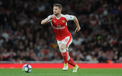 Shkodran Mustafi, match, Arsenal, footballers, The Gunners