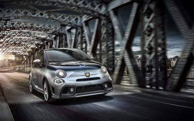 Abarth 695 Rivale, 175 Anniversary, 2017, Front view, special version, Fiat 500, coupe